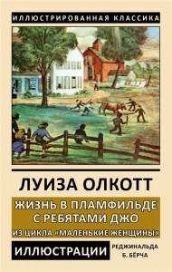 Книга Жизнь в Пламфильде с ребятами Джо. Из цикла 'Маленькие женщины'