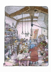 фото страниц Ая и ведьма #11