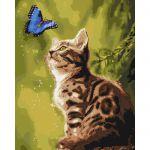 Картина по номерам 'Загадочная бабочка', 40x50см (КНО4150)