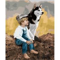 Картина по номерам 'Настоящие друзья', 40х50 см (КНО4660)