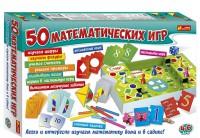 Настольная игра Ranok-Creative '50 математических игр' (12109097Р)