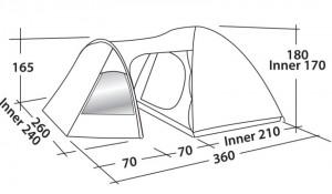 фото Палатка Easy Camp Blazar 400 Rustic Green (120385) #3