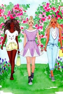 фото страниц Модний стиліст. Колекція весна-літо #4