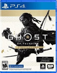 игра Ghost of Tsushima Director's Cut PS4 - русская версия