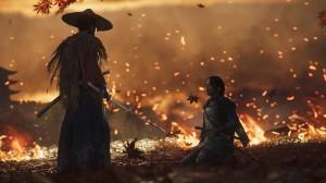 скриншот Ghost of Tsushima Director's Cut PS4 - русская версия #6