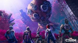 скриншот Marvel's Guardians of the Galaxy - Стражи галактики - PS4 - русская версия #4