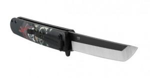 фото Нож складной Ganzo черный самурай (G626-BS) #2