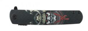 фото Нож складной Ganzo черный самурай (G626-BS) #4