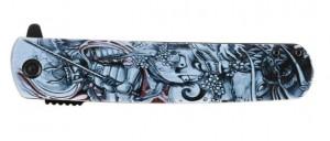 фото Нож складной Ganzo серый самурай (G626-GS) #2