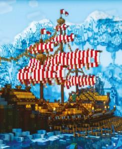 фото страниц Minecraft. Епічні бази #3