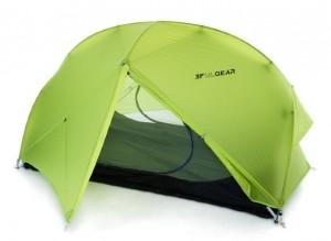 Палатка 3F Ul Gear Floating Cloud 2 15D зеленый (215D3S)