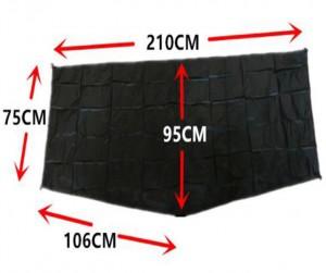 фото Пол для палатки 3F Ul Gear Lanshan 1 Ground sheet (40DN) #4