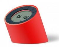 Подарок Будильник-лампа Gingko 'The Edge Light', с регулировкой яркости, красный (G001RD)