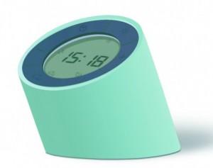 Подарок Будильник-лампа Gingko 'The Edge Light', с регулировкой яркости, зеленый (G001GN)