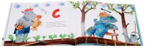 фото страниц Азбука в стихах с увлекательными заданиями, плакатом и наклейками #6