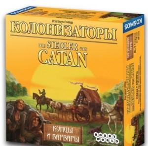 Настольная игра Hobby World 'Колонизаторы. Купцы и Варвары' (181901)