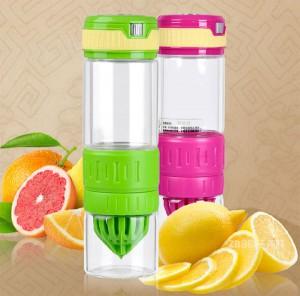 Подарок Стеклянная бутылка для самодельного лимонада, цитрусовых и фруктовых напитков (0,75)