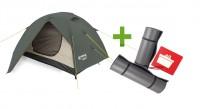 Палатка Terra Incognita Omega 2 + 2 каремата в подарок