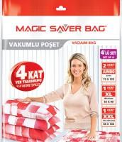 Подарок Набор из 4 вакуумных пакетов