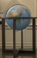 Фізичний глобус Cross Blue, діам. 500 мм