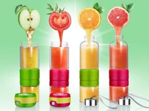 Подарок Стеклянная бутылка для самодельного лимонада, цитрусовых и фруктовых напитков