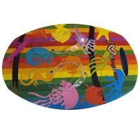 Подарок Тапки вьетнамки Медуза (37 размер)