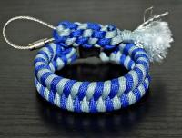 Подарок Паракордовый браслет выживания 'Синева'