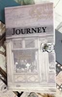 Подарок Винтажный блокнот на кнопке 'Journey'
