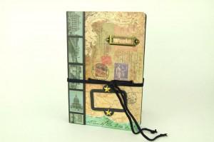 Подарок Винтажный блокнот 'World'