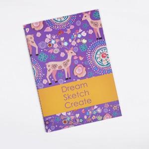 Подарок Тетрадь 'Chicardi Deer Purple'