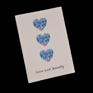 Подарок Тетрадь 'Chicardi Flowers Blue (Love and beauty)'