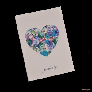 Подарок Тетрадь 'Chicardi Flowers Purple (Flowerable life)'