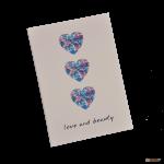 Подарок Тетрадь 'Chicardi Flowers Purple (Love and beauty)'