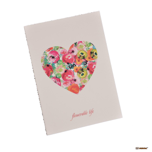 Подарок Тетрадь 'Chicardi Flowers Tellow (Flowerable life)'