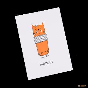 Подарок Тетрадь 'Chicardi 'Lovely Cats' (Lovely Mr. Cat)'