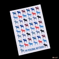 Подарок Тетрадь 'Chicardi My personal notebook (Horses)'