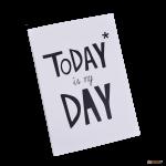 Подарок Тетрадь 'Chicardi Today is my day'
