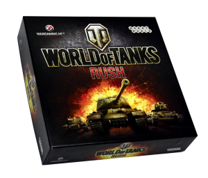 Настольная игра Hobby World 'World of Tanks: Rush'  (2-е рус. изд.) (1341)