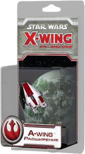 Настольная игра 'Star Wars: X-Wing. А-Wing'