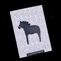 Подарок Тетрадь 'Chicardi My personal notebook (Horse, белая, черная)'