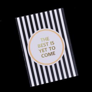 Подарок Тетрадь 'Chicardi The best is yet to come'