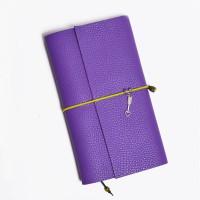 Кожаный блокнот ручной работы 'Chicardi violet'