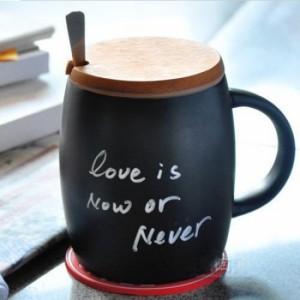 Подарок Керамическая чашка с крышкой из пробкового дерева 'Starbucks'