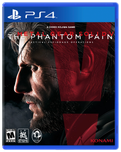 игра Metal Gear Solid V The Phantom Pain PS4