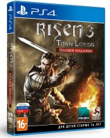 игра Risen 3: Titan Lords Enhanced Edition PS4 - Risen 3: Titan Lords. Полное издание - Русская версия