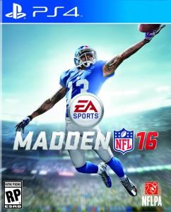 игра Madden NFL 16 PS4