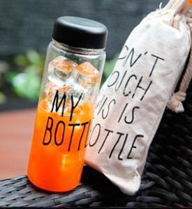 Подарок Бутылка для воды 'My Bottle' в чехле