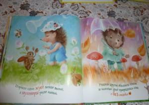 фото страниц Маленькие сказки про ёжиков #9