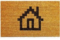 Подарок Придверный коврик 'Коврикус Домикус'