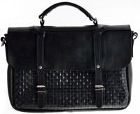 Подарок Кожаный портфель Business для ноутбука